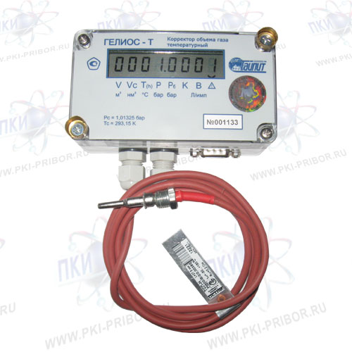 Электронный корректор количества (объема) газа по температуре ГЕЛИОС